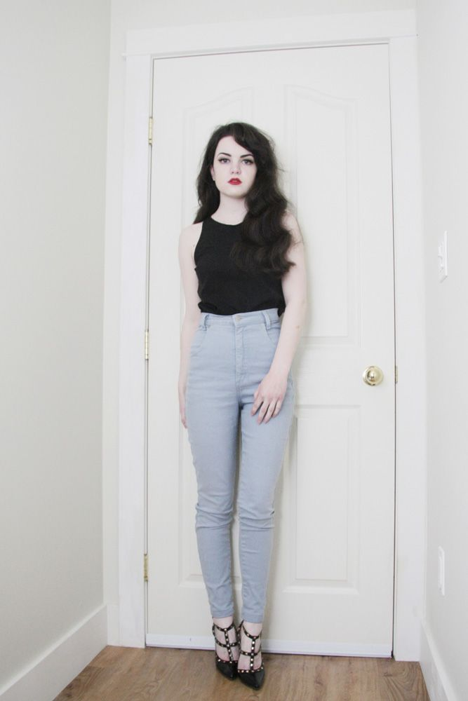 Top from Sirens | Thrifted Jeans | Heels C/O Mart of China     This outfit is a little different from anything I've posted la...