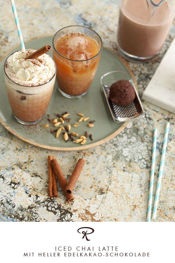 Iced Chai Latte In 2020 Schokoladen Rezepte Kakao Schokolade