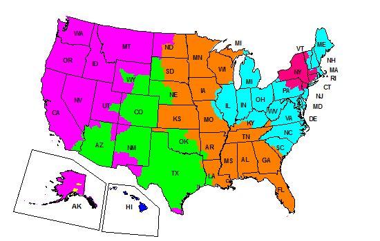 FedEx Ground | Ground Transit Information | Ground Service Maps