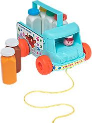 Milk Wagon by Fisher Price I tried to buy one of these for my grandson $55!  He didn't get one