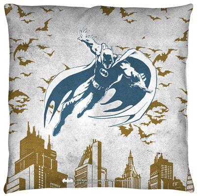 Pillow-Batman City Vibe Throw Pillow