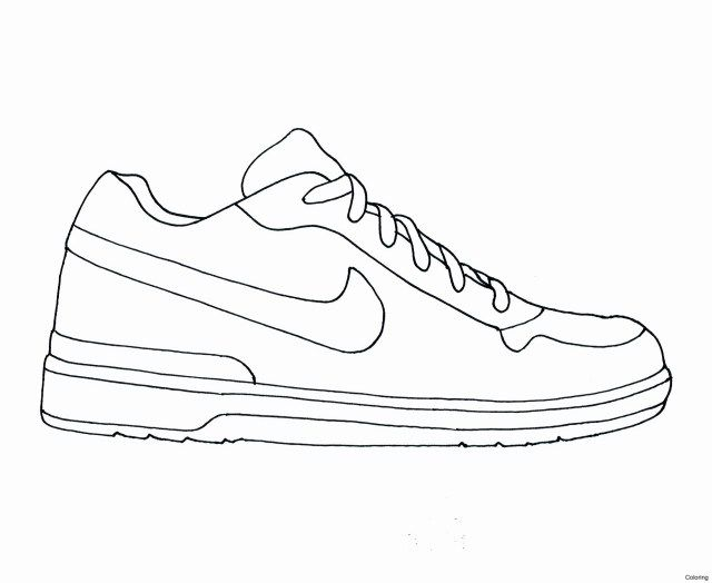 27 Exclusive Picture Of Jordan 12 Coloring Pages Shoes Clipart