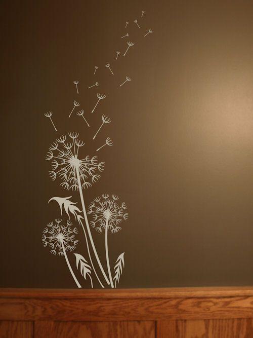 best 25 flower wall decals ideas on pinterest - Wall Sticker Design Ideas