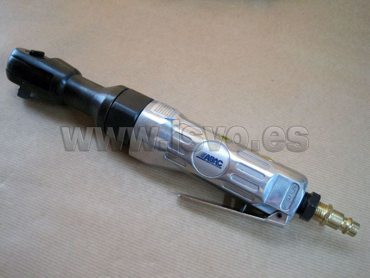 "Llave de carraca neumática de ½"" (12,7mm) ABAC. Caudal: 115 l/min. Presión máx.: 6 bar (87 psi) Mod.: 8973005919 www.jsvo.es"