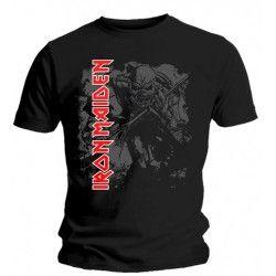 Tricou Iron Maiden: Hi Contrast Trooper