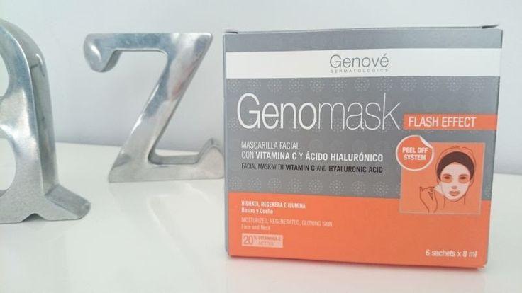 Aidixy y sus Cosas: Genomask #belleza #mujer mascarilla facial con Acido Hialuronico.