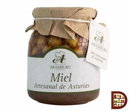 Miel Multifloral con Avellanas