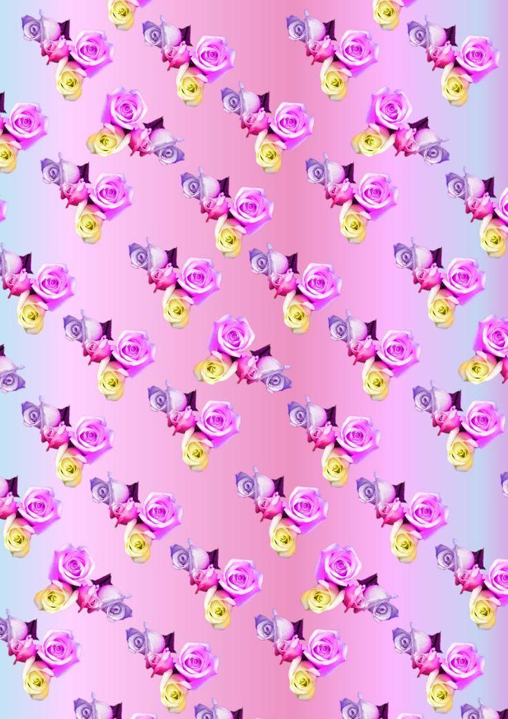 aqua flower dreamer wallpapercyan - photo #13