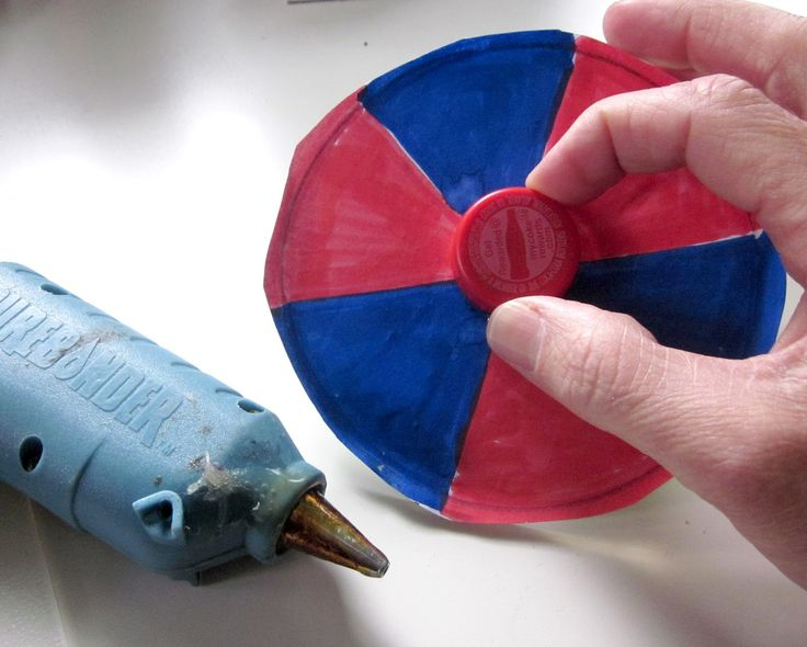 """Today Bode and I made CD color spinners. Since my last post """" Shamrock Color Viewer: A craft and a tool in one """" I have wanted..."""
