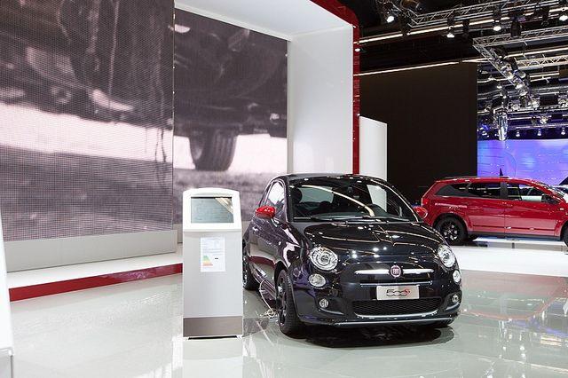 #Fiat #500S at 65th International Motor Show IAA 2013 in Frankfurt