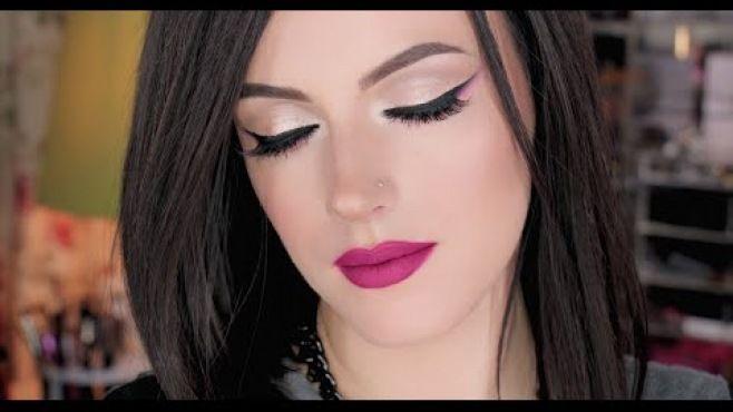 Sonbahar Makyajı Tekniği - Sonbahar mevsiminde uygulayabileceğiniz bu kolay ve ışıltılı makyaj tekniği (Fall Makeup Video)