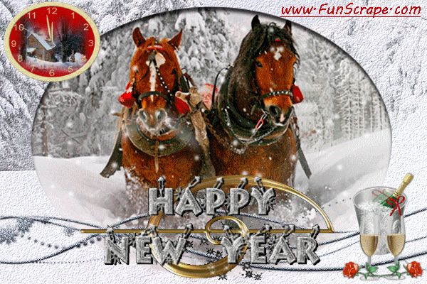 Happy New Year Horse Images 30