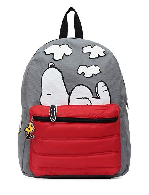 f09d5ce2d Peanuts Snoopy on Doghouse 16 Backpack