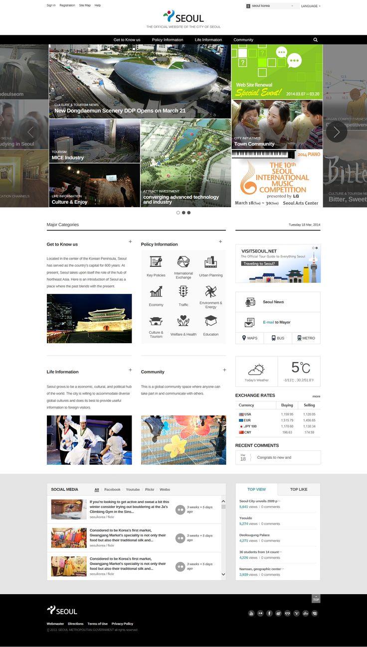 DCafeIn Website - Seoul City