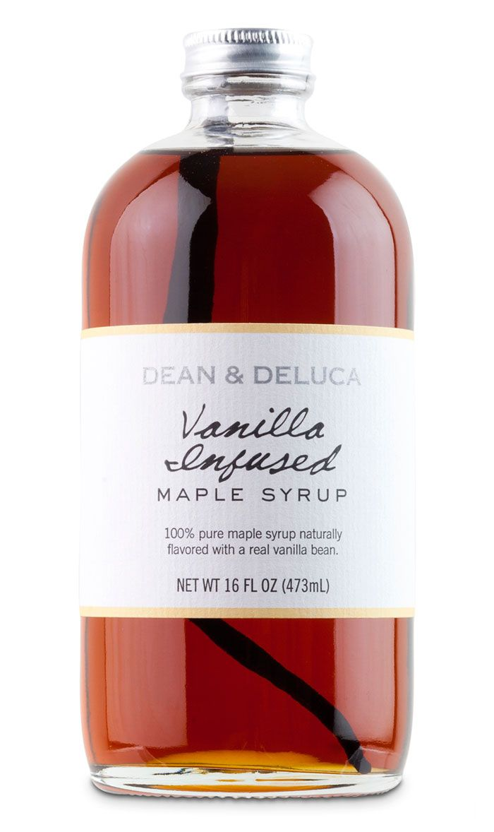 Dean & DeLuca: Gifts Ideas, Bottle Packaging, Packaging Design, Dean O'Gorman, Infused Maple, Diy Gifts, Beautiful Packaging, Maple Syrup, Vanilla Infused