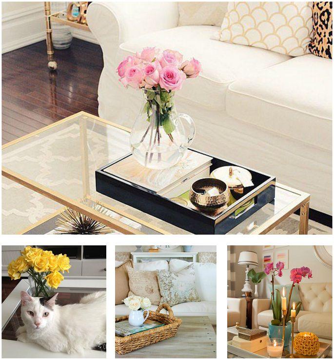 Las 25 mejores ideas sobre mesas de centro redondas en - Bandejas decoracion salon ...