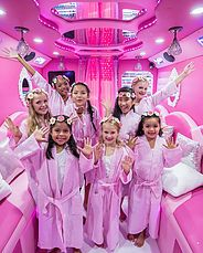 Rockstar spa bus is the best and only girls birthday spa parties. Girls spa parties bus in Katy - Kids spa bus mobile Houston.