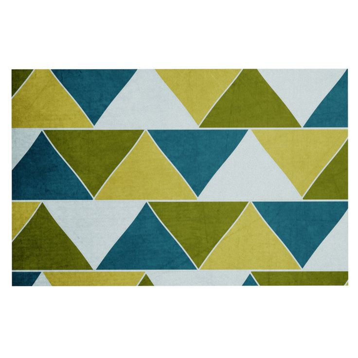 "Catherine McDonald ""Mediterranean"" Decorative Door Mat"