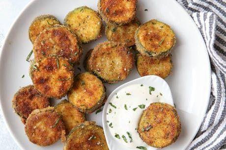 Pan-Fried Zucchini Chips