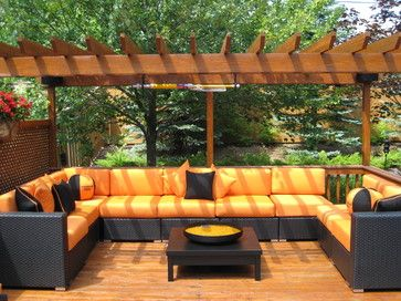 contemporary outdoor patio - Google Search