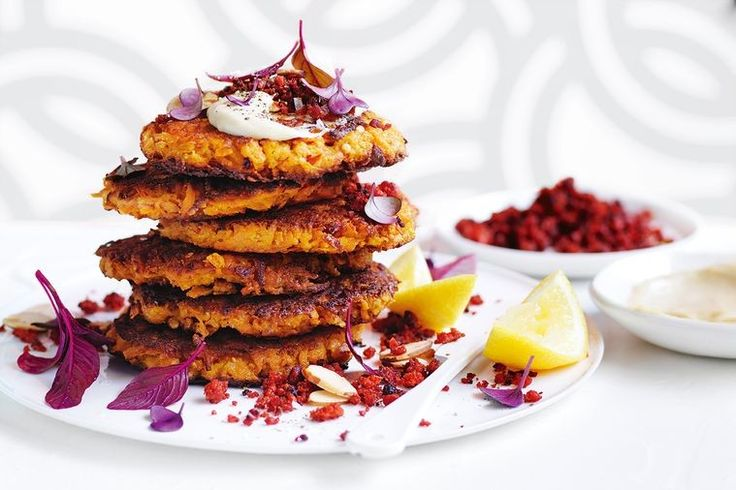 Easy, healthy and tasty, these fritters are hard to beat any time of the day.