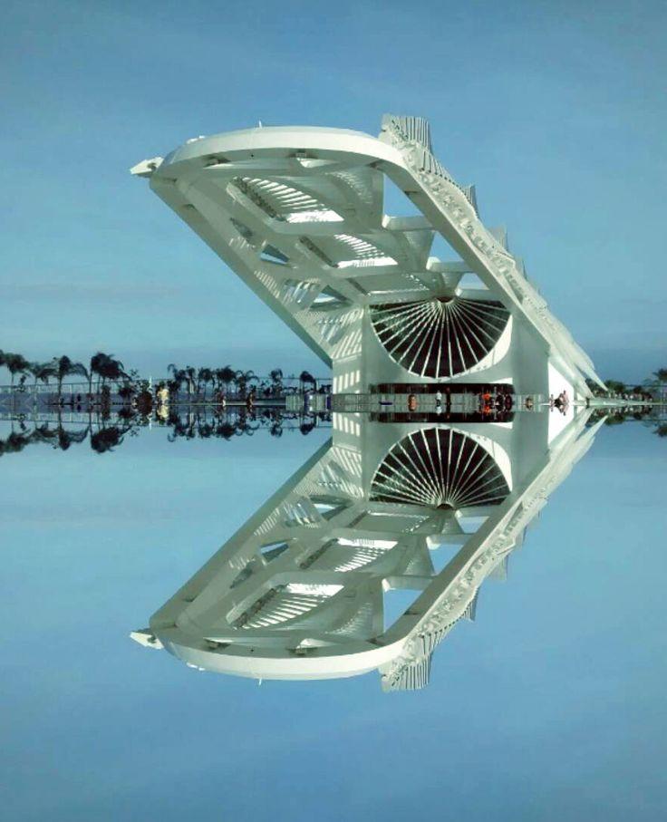 Museu do Amanhã - Rio de Janeiro, Brazil. Designed by Santiago Calatrava.  #Brasil #Brazil