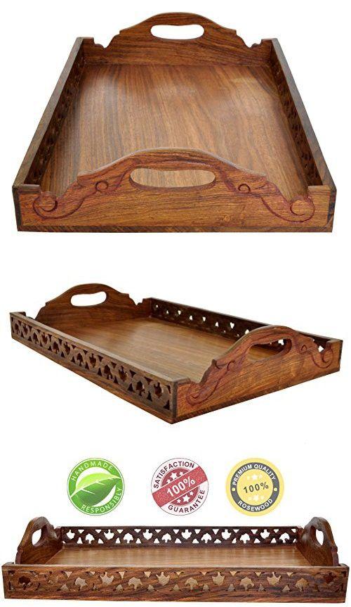 Large Decorative Serving Trays Entrancing 428 Best Decorative Trays Images On Pinterest  Decorative Trays Design Ideas
