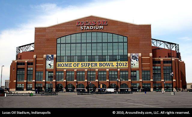 Lucas Oil Stadium, Indianapolis, Indiana.