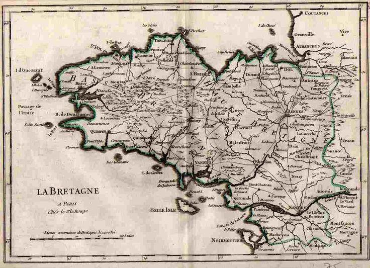 Georges Louis Le Rouge 1748 20.5x28