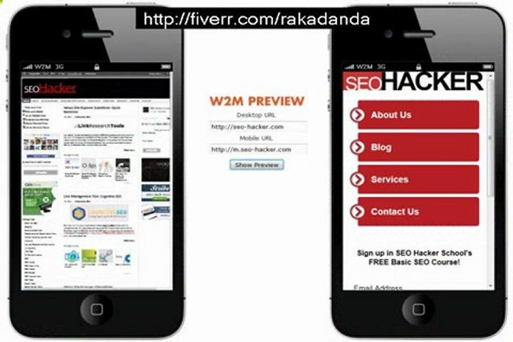 rakadanda: create a professional 10 page mobile website for your business for $5, on fiverr.com