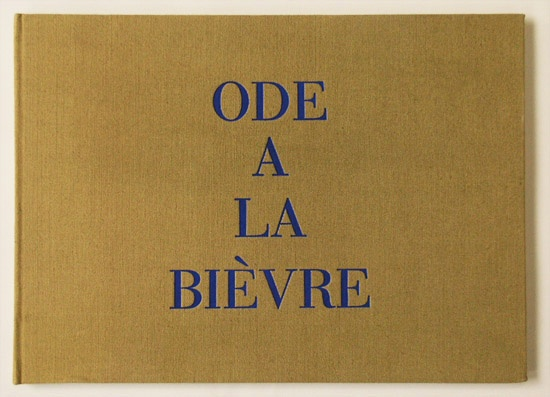 'Ode á la Bièvre was made by Louise Bourgeois in 2002 as an embroidered book from fragments of cloth.': Embroidered Books, Pretty Books, 2002 Books