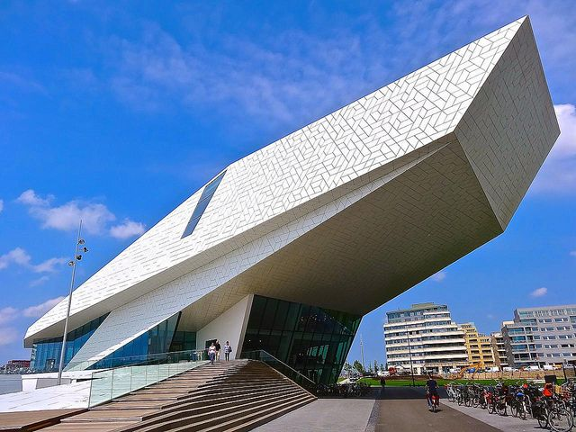 EYE Film Institute Netherlands - Amsterdam, The Netherlands;  photo by Ken Lee 2010, via Flickr