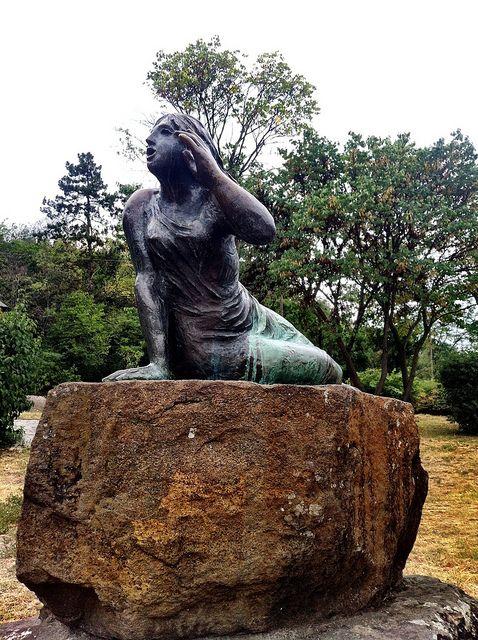 Statue of Echo, Tihany Hungary | Flickr - Photo Sharing!