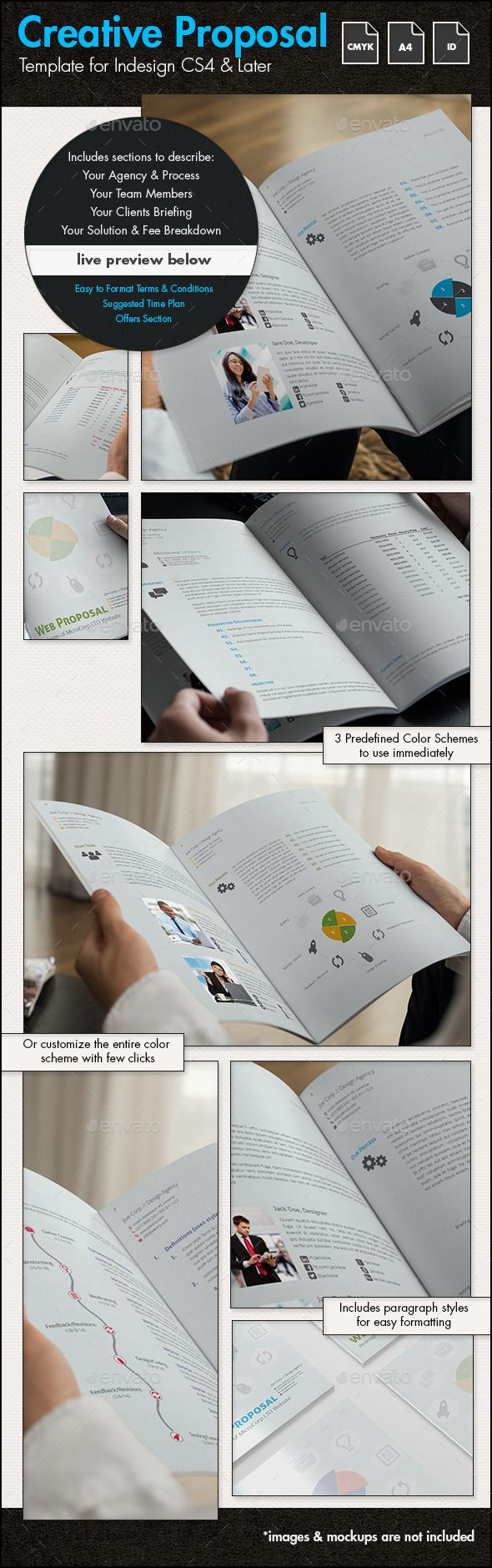 Creative Business Proposal r3 - A4 Portrait