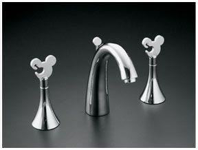 Mickey Mouse Kohler Faucet   MouseCaves.com