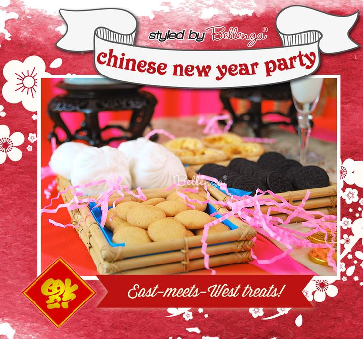 Chinese New  Year Cookies and Treats with a Asian Fusion Twist!