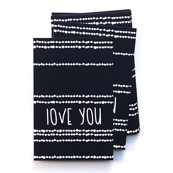 Kadokaartje uit de webshop: Love you. Voor de liefste!