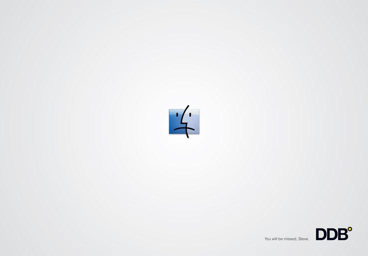 DDB homage to Steve Jobs (2012)