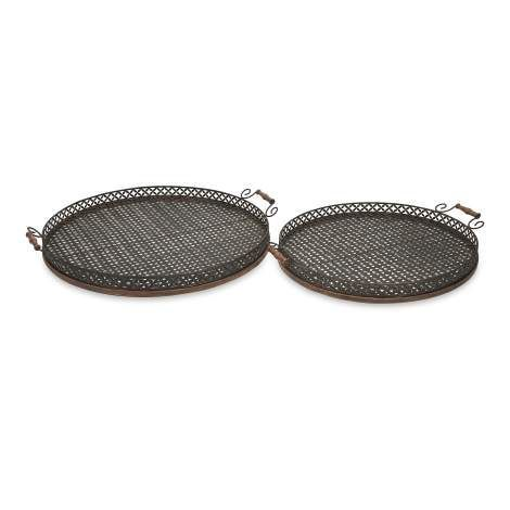Great for entertaining, the Regency oversized trays are perfect for an outdoor barbeque or party.