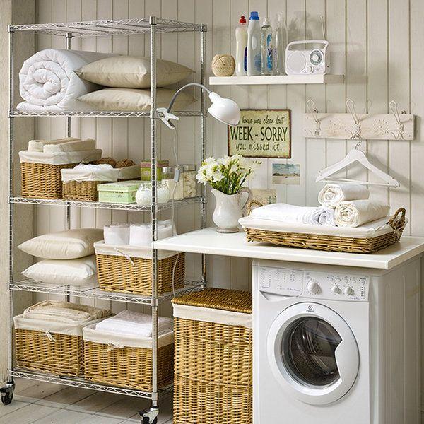 Orden en la lavandería - Mi Casa