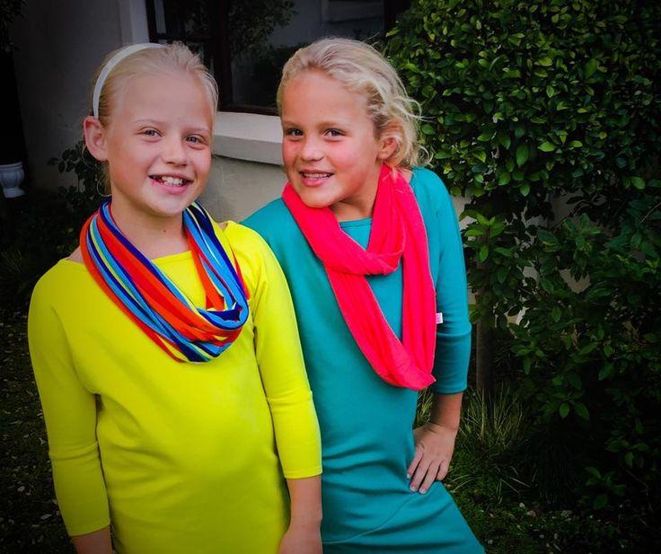 Zani girls like bright colours