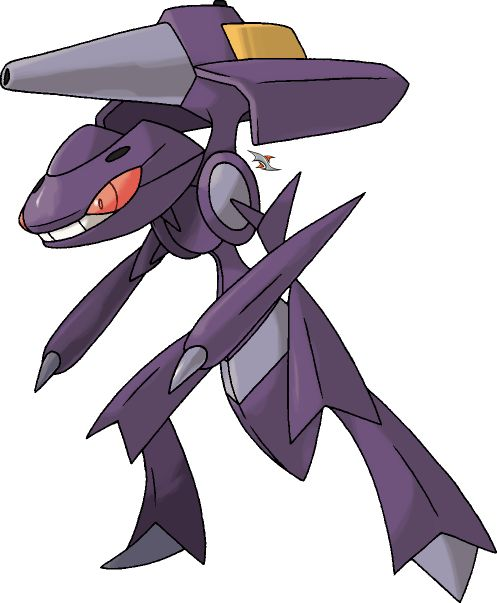 Genesect+v.4+by+Xous54.deviantart.com+on+@