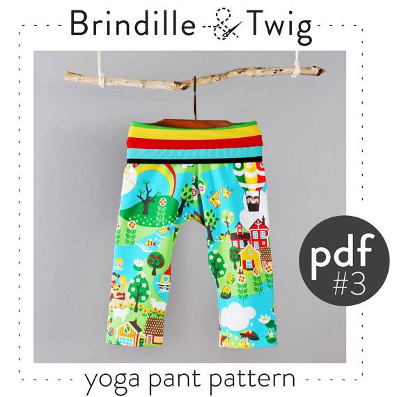 Kids Yoga Pants Pdf Pattern // Photo Tutorial // Preemie