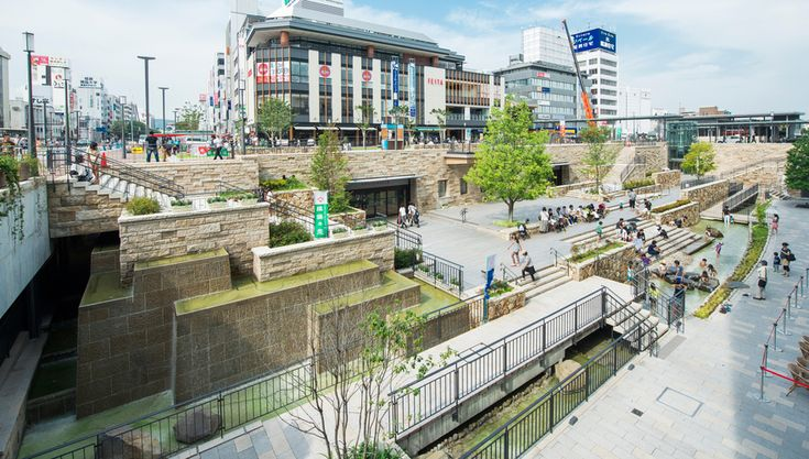 Station front plaza and street [Himeji Station Plaza North and Otemae Street] | Complete list of the winners | Good Design Award
