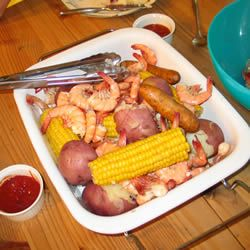 SC Frogmore Stew: Corn Recipes, Soups Chilis Stews, Stew Allrecipes Com, Seafood Recipes, Frogmore Stew, Sc Frogmore, Amazing Foods, Stew Recipe, Favorite Recipes