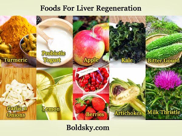Best Foods For Liver Regeneration