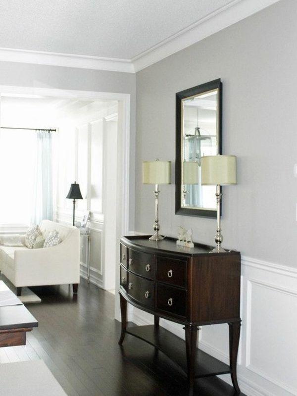 Die besten 25+ Graues raumdekor Ideen auf Pinterest Graues - wohnzimmer grau silber
