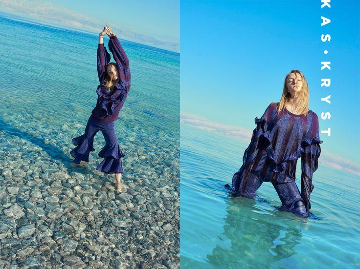 KAS KRYST  SPRING/SUMMER 2017 Campaign by Daniel Jaroszek  Maja Salamon Official / D'VISION Otto Sot / MAKATA STUDIO Magdalena Baran Retouch
