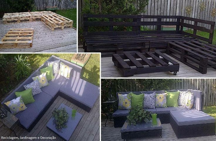 Palette outdoor ideas