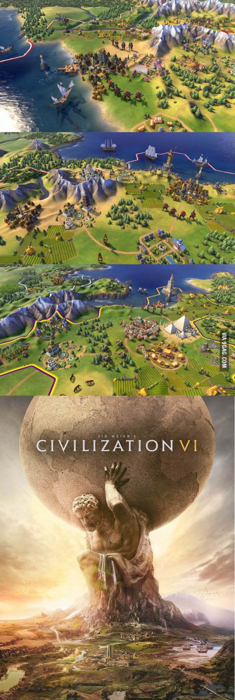 Everybody Let us welcome... Civilization VI! 21 OCT